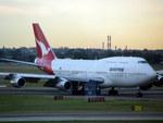 メニSさんが、シドニー国際空港で撮影したカンタス航空 747-338の航空フォト(写真)