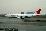 メニSさんが、香港国際空港で撮影した日本航空 747-221F/SCDの航空フォト(写真)