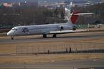 メニSさんが、松本空港で撮影した日本航空 MD-87 (DC-9-87)の航空フォト(写真)