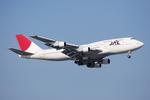 ワーゲンバスさんが、羽田空港で撮影した日本航空 747-346の航空フォト(写真)