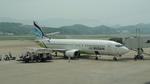 pringlesさんが、福岡空港で撮影したエアプサン 737-48Eの航空フォト(写真)