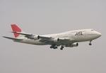 さわすけさんが、成田国際空港で撮影した日本航空 747-346の航空フォト(写真)
