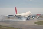 speedbirdさんが、関西国際空港で撮影した日本航空 747-246F/SCDの航空フォト(写真)
