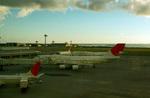 婆裟羅大将さんが、那覇空港で撮影した日本航空 747-446Dの航空フォト(写真)