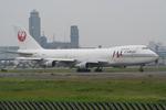 気分屋さんが、成田国際空港で撮影した日本航空 747-246F/SCDの航空フォト(写真)