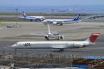 wtb11_ksさんが、羽田空港で撮影した日本航空 MD-90-30の航空フォト(写真)