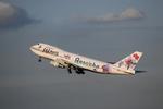 かずきゅーぶさんが、羽田空港で撮影したJALウェイズ 747-246Bの航空フォト(写真)