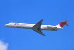 動物村猫君さんが、大分空港で撮影した日本航空 MD-81 (DC-9-81)の航空フォト(写真)