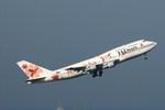 かずきゅーぶさんが、羽田空港で撮影したJALウェイズ 747-346の航空フォト(写真)
