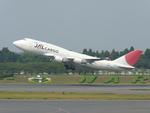 フジケンさんが、成田国際空港で撮影した日本航空 747-446(BCF)の航空フォト(写真)
