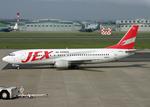 Bokuranさんが、名古屋飛行場で撮影したJALエクスプレス 737-446の航空フォト(写真)