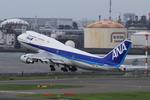 ちぃこさんが、羽田空港で撮影した全日空 747-481の航空フォト(写真)