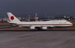 Fuseyaさんが、名古屋飛行場で撮影した総理府 747-47Cの航空フォト(写真)