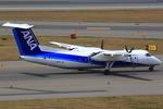 エアポートひたちさんが、中部国際空港で撮影したANAウイングス DHC-8-314Q Dash 8の航空フォト(写真)