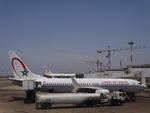 すっちゃさんが、ムハンマド5世国際空港で撮影したロイヤル・エア・モロッコ 737-8B6の航空フォト(写真)
