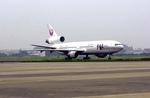 黒霧島さんが、宮崎空港で撮影した日本航空 DC-10-40Dの航空フォト(写真)