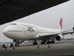 なぽーぱいさんが、成田国際空港で撮影した日本航空 747-446の航空フォト(写真)