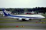 sakuraさんが、成田国際空港で撮影した全日空 747-2D3Bの航空フォト(写真)
