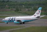 なごやんさんが、新千歳空港で撮影したサハリン航空 737-2J8/Advの航空フォト(写真)