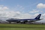 鹿児島のぽりっす♪さんが、鹿児島空港で撮影した全日空 747-481の航空フォト(写真)