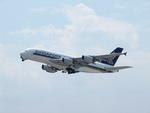 aquaさんが、関西国際空港で撮影したシンガポール航空 A380-841の航空フォト(写真)