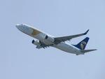 aquaさんが、関西国際空港で撮影したMIATモンゴル航空 737-8ASの航空フォト(写真)