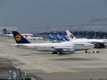 aquaさんが、関西国際空港で撮影したルフトハンザドイツ航空 747-430の航空フォト(写真)