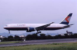 md11jbirdさんが、名古屋飛行場で撮影したカナディアン航空 767-375/ERの航空フォト(写真)