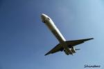 Shintaroさんが、伊丹空港で撮影した日本エアシステム MD-81 (DC-9-81)の航空フォト(写真)