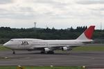 hiko_chunenさんが、成田国際空港で撮影した日本航空 747-346の航空フォト(写真)
