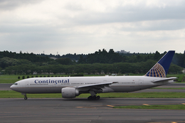 hiko_chunenさんが、成田国際空港で撮影したコンチネンタル航空 777-224/ERの航空フォト(写真)