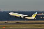 南風良好さんが、羽田空港で撮影したAIR DO 767-381の航空フォト(写真)