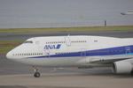 タイ国際航空さんが、羽田空港で撮影した全日空 747-481(D)の航空フォト(写真)