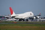ワーゲンバスさんが、成田国際空港で撮影した日本航空 747-446の航空フォト(写真)