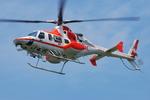 へりさんが、朝日航洋川越メンテナンスセンターで撮影した朝日航洋 430の航空フォト(写真)