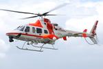 へりさんが、東京ヘリポートで撮影した朝日航洋 430の航空フォト(写真)