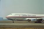 青路村さんが、伊丹空港で撮影した日本航空 747-146B/SR/SUDの航空フォト(写真)
