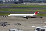 Willieさんが、羽田空港で撮影した日本航空 MD-90-30の航空フォト(写真)