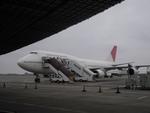 コウさんが、成田国際空港で撮影した日本航空 747-446の航空フォト(写真)