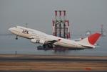 ワーゲンバスさんが、羽田空港で撮影した日本航空 747-446の航空フォト(写真)