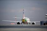 mameshibaさんが、羽田空港で撮影したスカイネットアジア航空 737-4M0の航空フォト(写真)