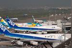 popupscanさんが、羽田空港で撮影した全日空 747SR-81の航空フォト(写真)