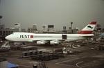 青路村さんが、伊丹空港で撮影した日本ユニバーサル航空 747-221F/SCDの航空フォト(写真)