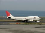 YASKYさんが、羽田空港で撮影した日本航空 747-446の航空フォト(写真)
