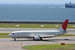 ヒロっちィさんが、中部国際空港で撮影した日本トランスオーシャン航空 737-429の航空フォト(写真)
