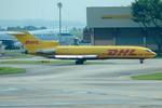 Tomo-Papaさんが、シンガポール・チャンギ国際空港で撮影したトランスマイル・エア・サービス 727-247/Adv(F)の航空フォト(写真)