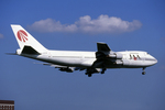 Kinyaさんが、成田国際空港で撮影した日本アジア航空 747-246Bの航空フォト(写真)