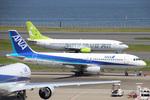 B747SR-SuperJumboさんが、羽田空港で撮影した全日空 A320-211の航空フォト(写真)