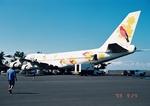 islanderさんが、コナ国際空港で撮影した日本航空 747-146の航空フォト(写真)