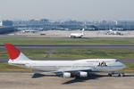 ワーゲンバスさんが、羽田空港で撮影した日本航空 747-446Dの航空フォト(写真)